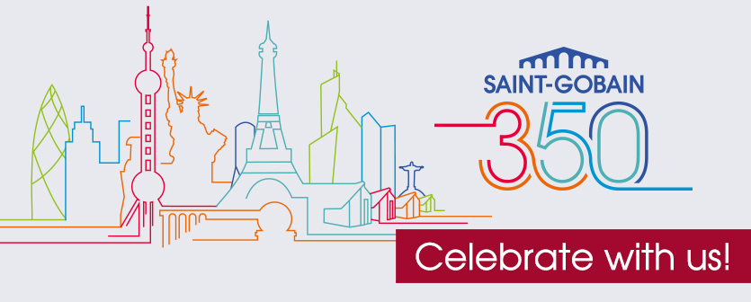 350 years SAINT-GOBAIN