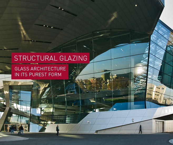 Products: STRUCTURAL GLAZING